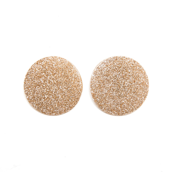 "SOHO Earrings ""Light Gold Warm"" S"