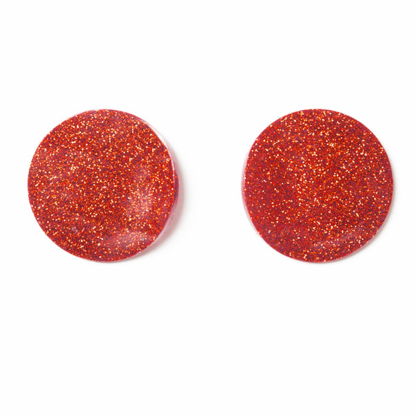 "SOHO Earrings ""Red"" S"