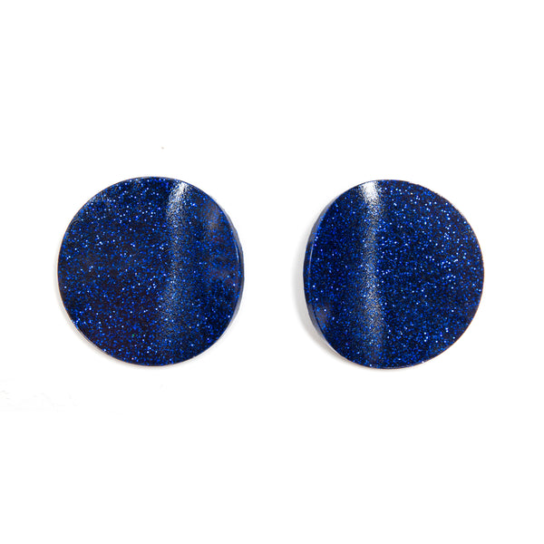 "SOHO Earrings ""Royal Blue"" S"