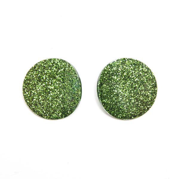 "SOHO Earrings ""Salad Green"" S"