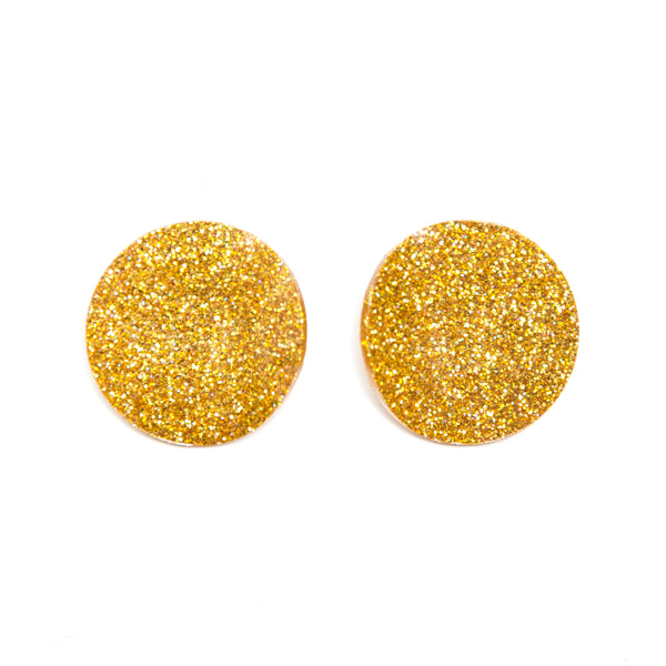 "SOHO Earrings ""Yellow"" S"