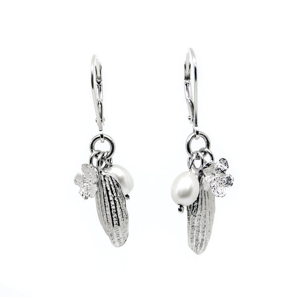 SPRING Earrings with Pearls