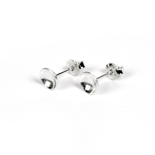 "Stud Earrings ""Bowl"""