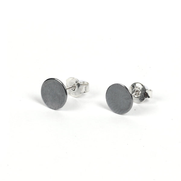 "Stud Earrings ""Plain Circle"""