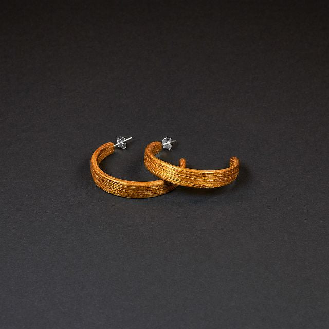 "Hoop Earrings ""Teak"" M"