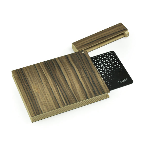 "Business Card Holder/Credit Card Holder ""Dark Olive"""