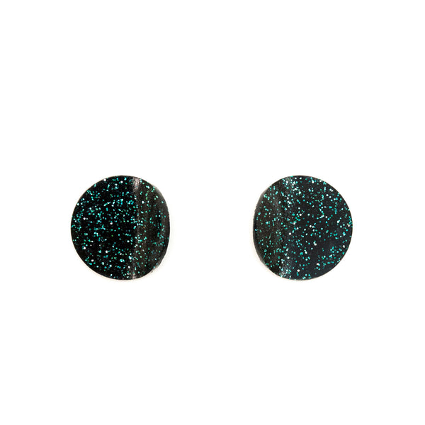 "SOHO Earrings ""Black Marine"" XS"