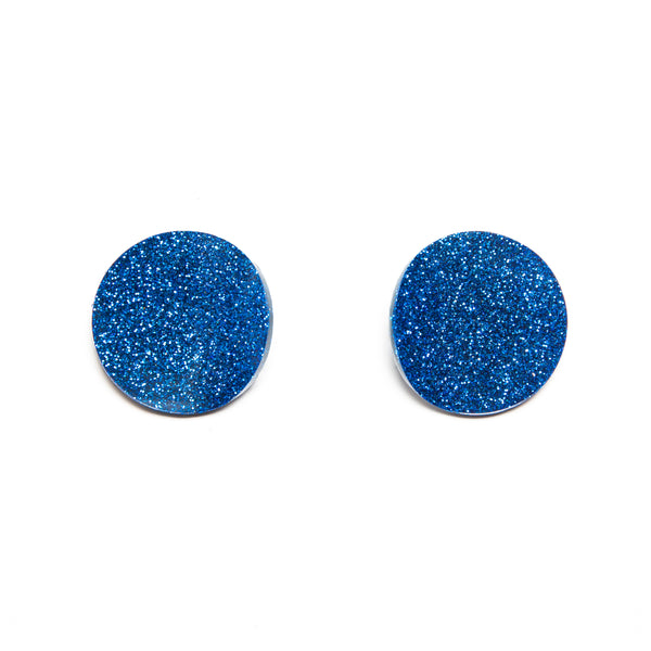 "SOHO Earrings ""Blue"" XS"