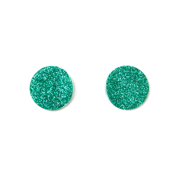 "SOHO Earrings ""Emerald"" XS"