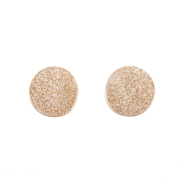 "SOHO Earrings ""Light Gold Warm"" XS"