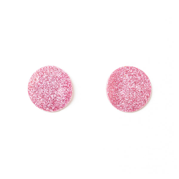 "SOHO Earrings ""Light Pink"" XS"