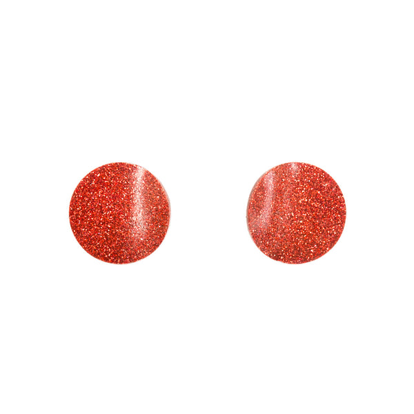 "SOHO Earrings ""Red"" XS"