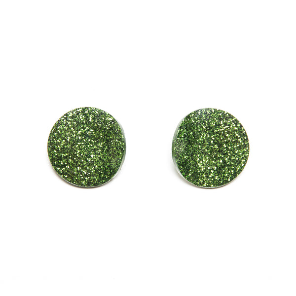 "SOHO Earrings ""Salad Green"" XS"