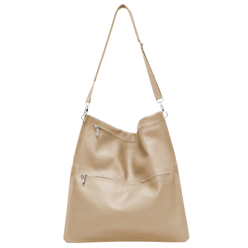 "Leather handbag ""Anna"""