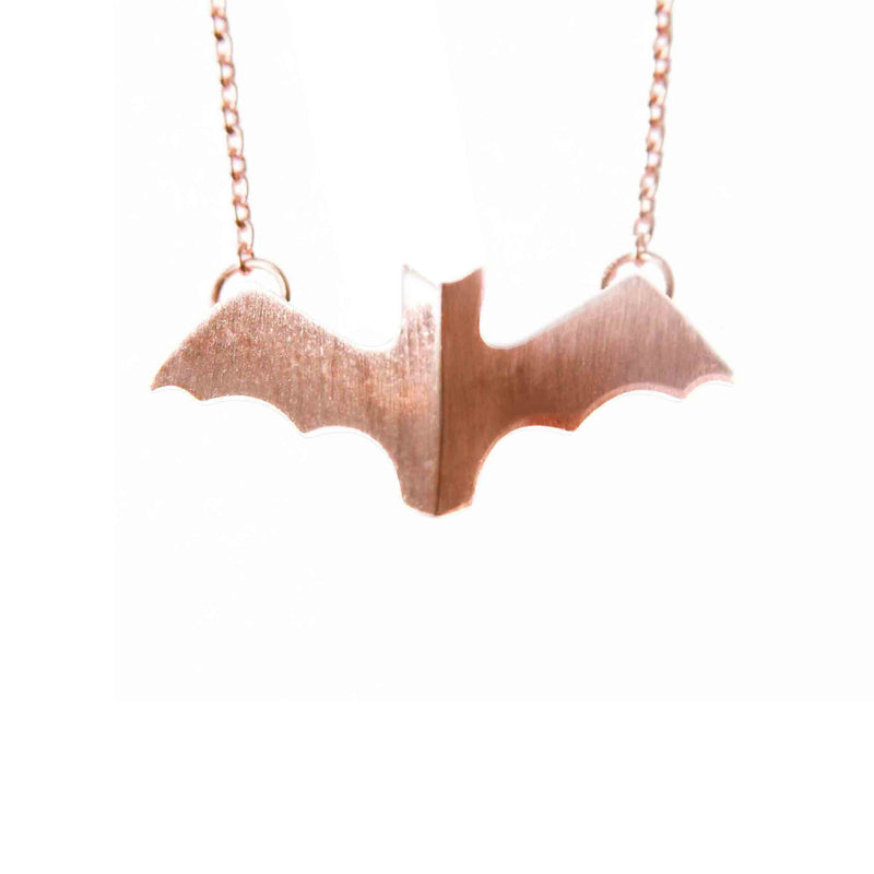 Rose Bat Pendant