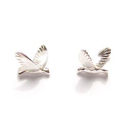 "Birds Earrings ""Silver"""