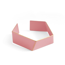 "Folded Bracelet ""Light Pink"""