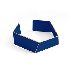"Folded Bracelet ""Ultramarine Blue"""