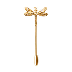 Gold Dragonfly Pin