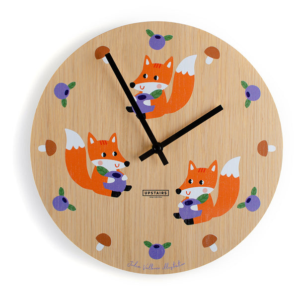 "Wall Clock ""Oaky Kids"""