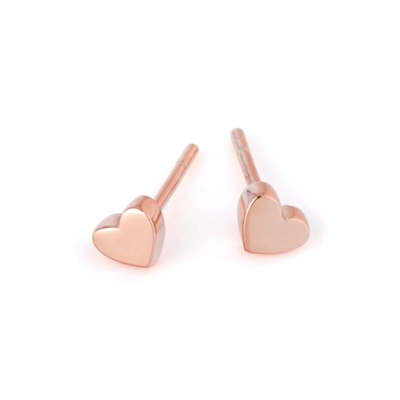 "Earrings ""Heart"" Golden"