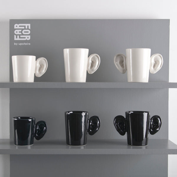 "Mug Uho ""Black"" Medium"