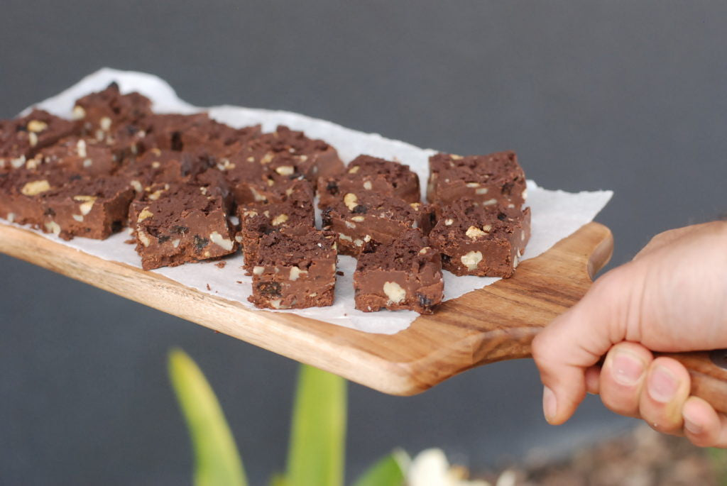 Fruit and Nut fudge - gluten free