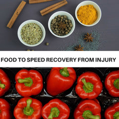 Food to help heal from running injury