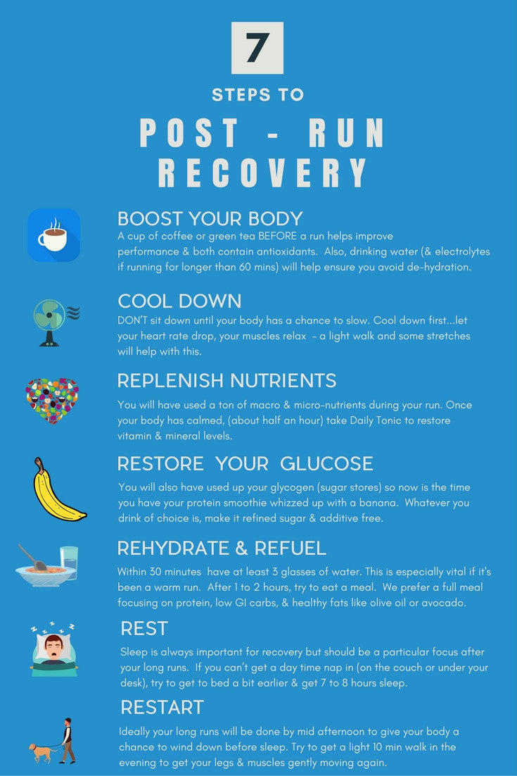 Running recovery - 7 steps to recovery after a long run