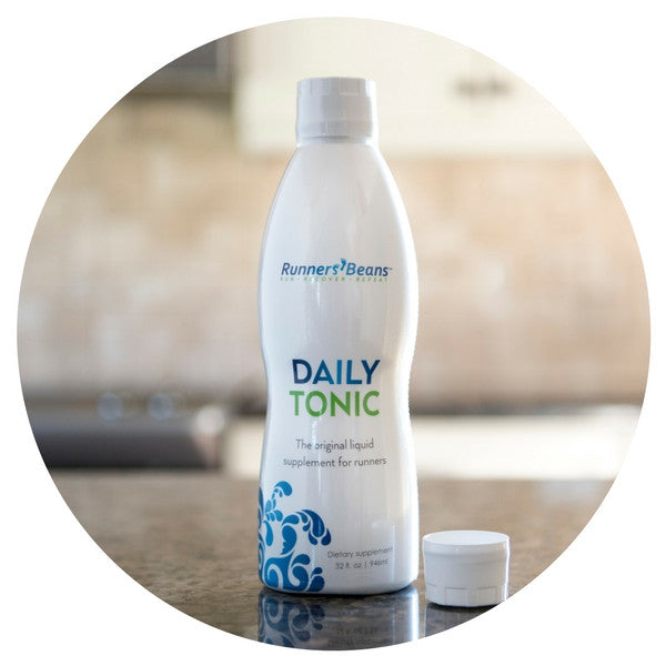 DAILY TONIC - RUN HARD, RUN HEALTHY