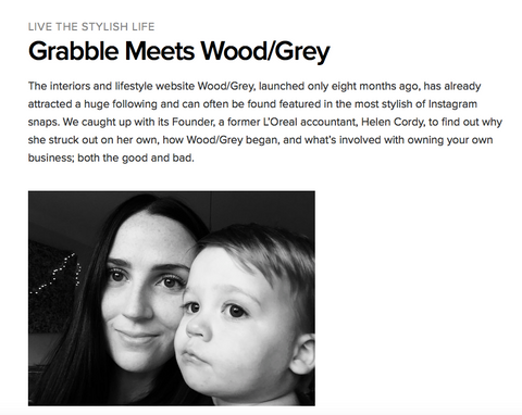 Grabble Meets Wood/Grey