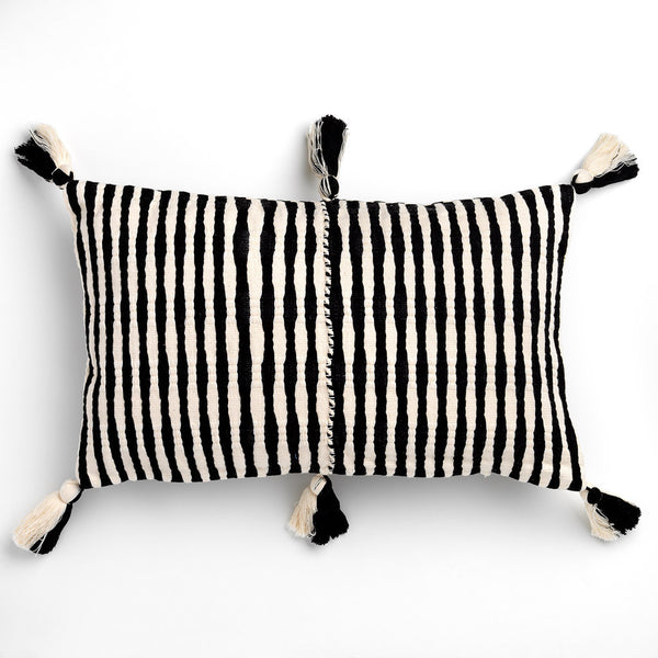 ANTIGUA CUSHION - BLACK