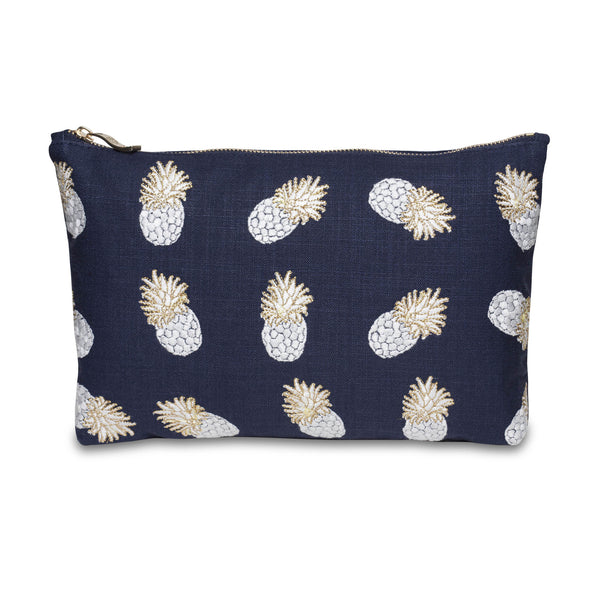 ANANAS INDIGO WASH BAG