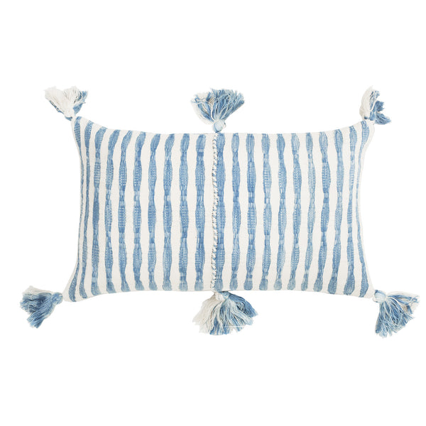 ANTIGUA CUSHION - WASHED INDIGO