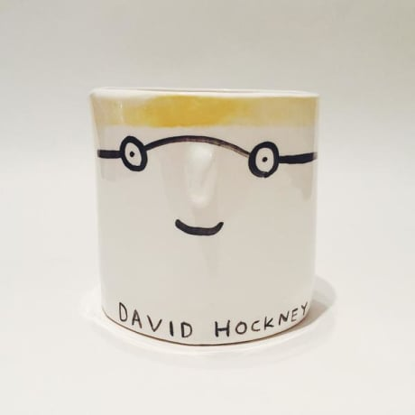 ARTIST POT - DAVID HOCKNEY