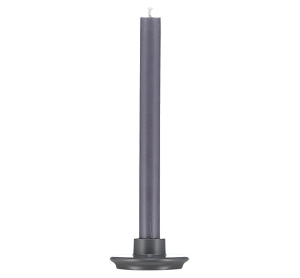 GREY CANDLE HOLDER