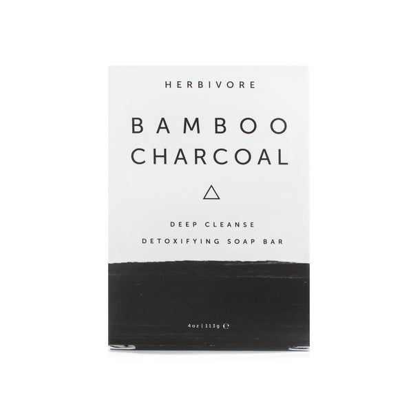 HERBIVORE BOTANICALS | BAMBOO CHARCOAL CLEANSING SOAP BAR