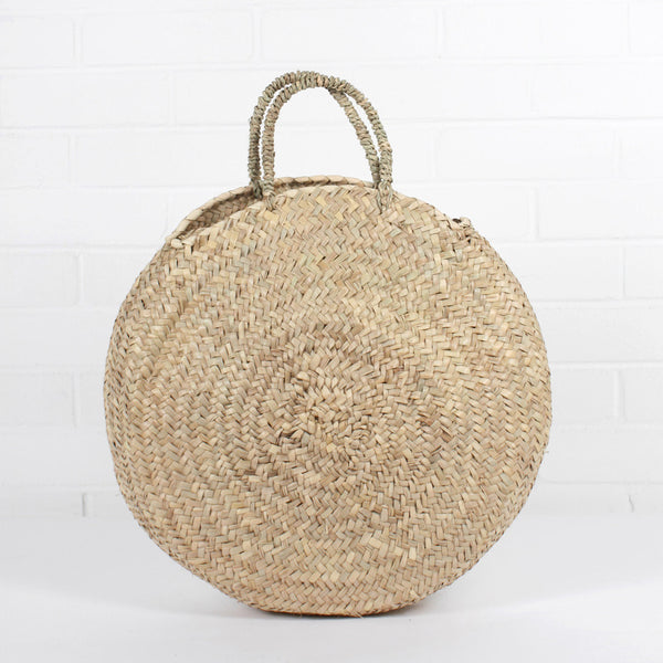 ROUND SHOPPER BASKET