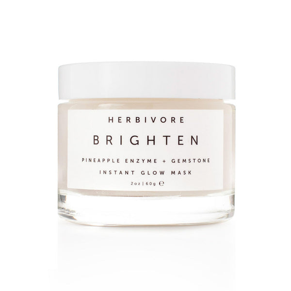 BRIGHTEN PINEAPPLE + GEMSTONE MASK | Herbivore Botanicals