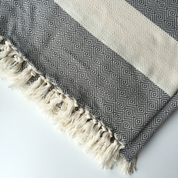 DIAMOND BLANKET - DARK GREY