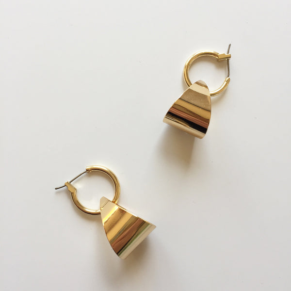 HOOP + LOOP EARRINGS - RELIQUIA