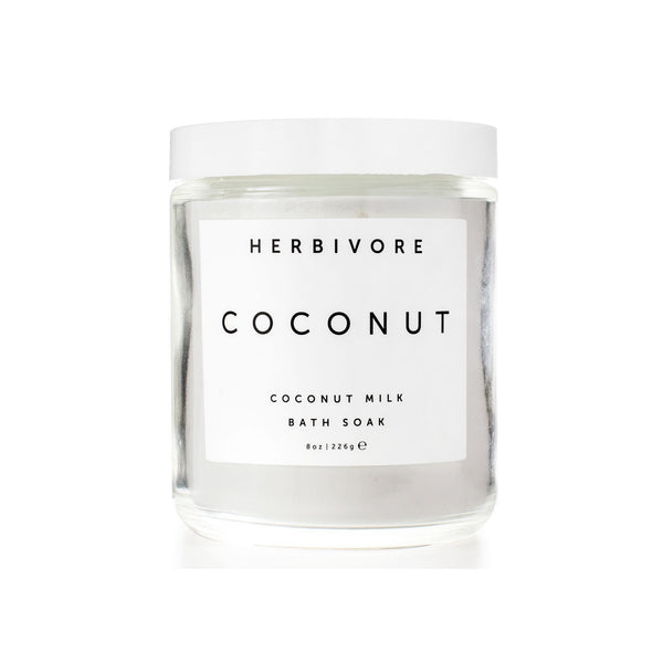 COCONUT MILK BATH SOAK | Herbivore Botanicals