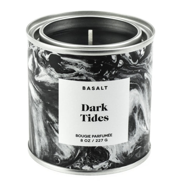 DARK TIDES CANDLE | BASALT | WOOD/GREY UK