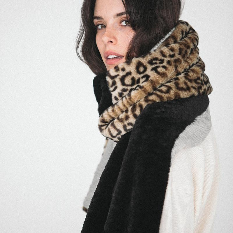 FAUX FIERCE SCARF - DONNI