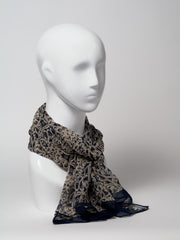 Silk scarf - long