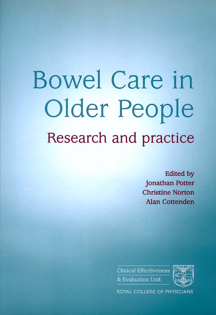 Bowel care in older people: research and practice