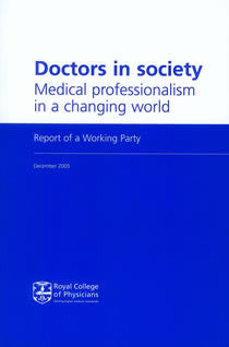 Doctors in society: medical professionalism in a changing world
