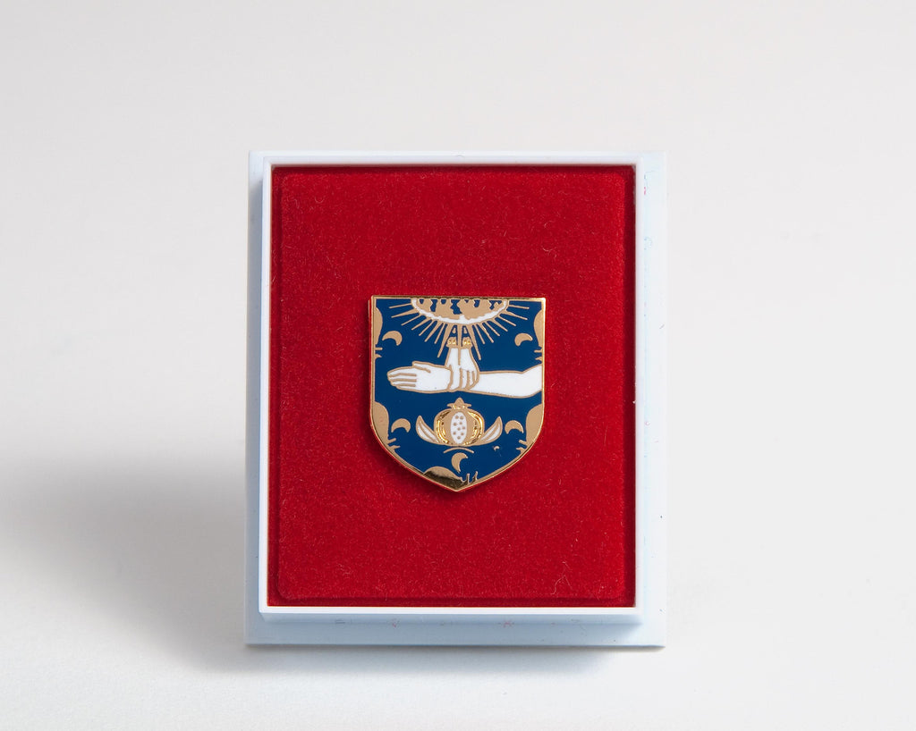 Enamel badge
