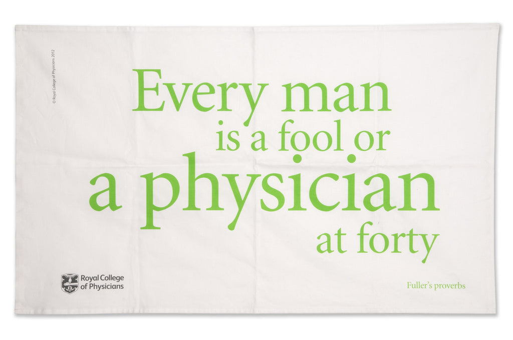 Tea towel - Fuller's proverbs
