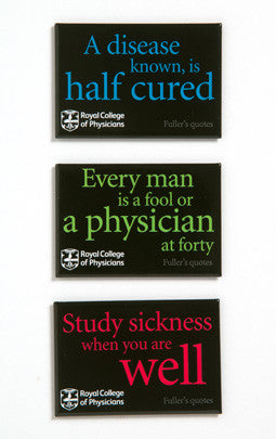 Fridge magnet - Fuller's proverbs